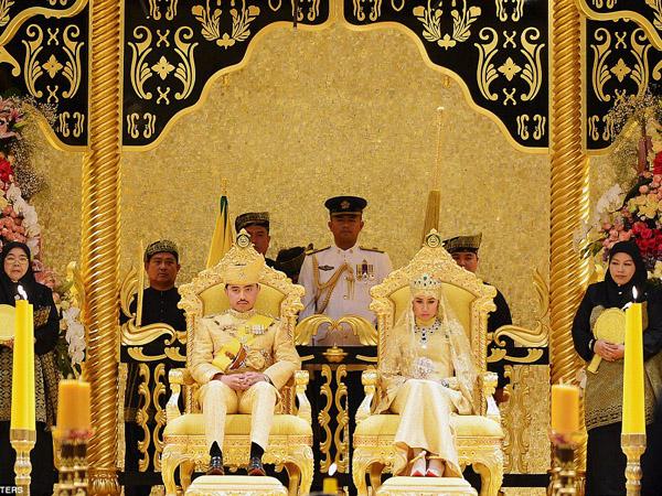 Menakjubkan, Pernikahan Pangeran Brunei Bertabur Berlian