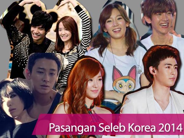 Confirmed & Unconfirmed, Pasangan Selebriti Korea Sepanjang 2014