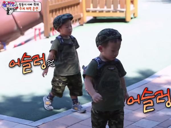 Diajak Main Ala Tentara Oleh Sang Ayah, Seo Eon Sudah Lebih Berani dari Seo Jun?