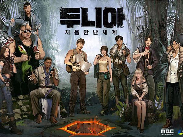 Yunho dan Sederet Seleb Korea Ini Muncul jadi Karakter Game Jelang Penayangan Variety Show 'Dunia'