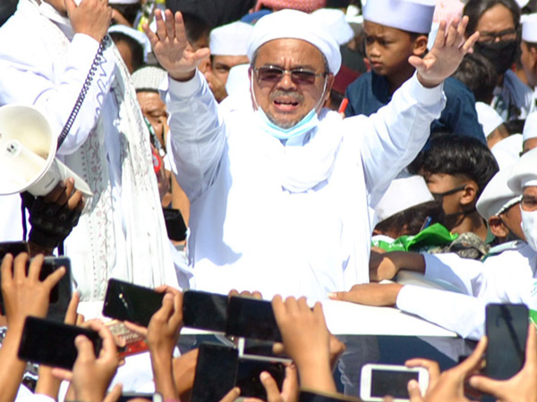 Acara Habib Rizieq Tak Bisa Dikenakan Hukuman Pidana