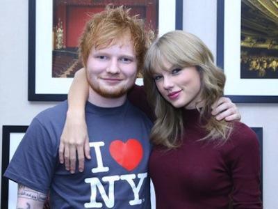 Benarkah Hubungan Ed Sheeran Dan Taylor Swift Hanya Sekedar Teman?