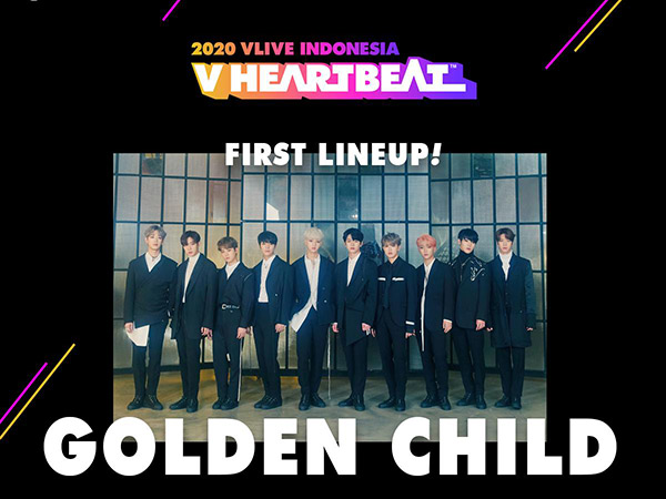 V HEARTBEAT 2020 Digelar Bulan Depan, Golden Child Dikonfirmasi Tampil