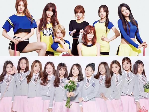 Foto Kegiatan Syuting Video Musik Bocor, Netizen Makin Anggap IOI Tiru AOA?