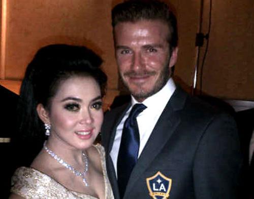 Ini Dia Pujian Beckham Untuk Syahrini