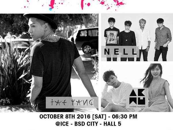 Yeayy! Taeyang dan Akdong Musician Dikonfirmasi akan Konser di Jakarta Oktober Depan