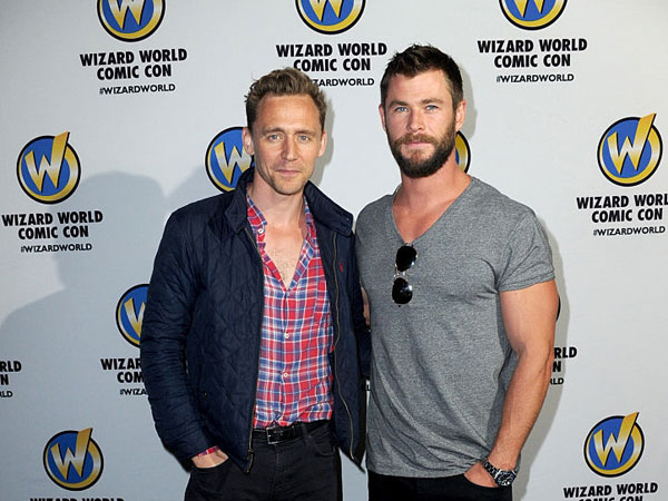 Bermain di Film yang Sama, Persahabatan Tom Hiddleston dan Chris Hemsworth Buat Haru Netizen