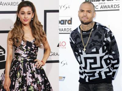Duet Bareng Chris Brown, Ariana Grande Jadi 'Bermasalah'?