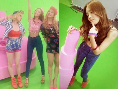 Member SNSD Berbagi Foto Cantik dari Behind the Scene MV Beep Beep