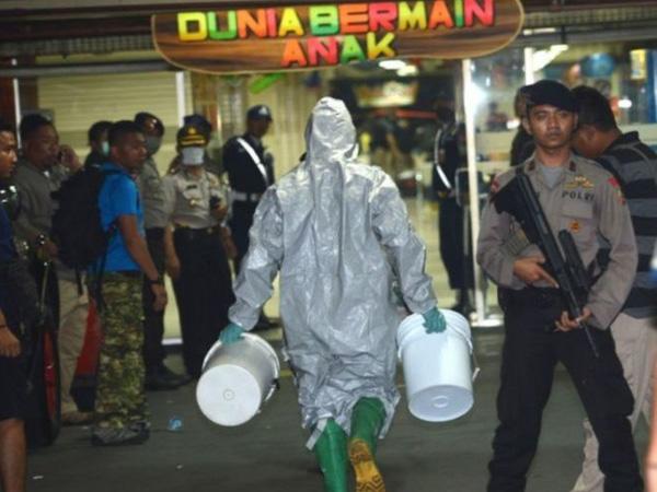 Sebuah Ledakan Terjadi di Pos Polisi Tanah Abang, Diduga Bom