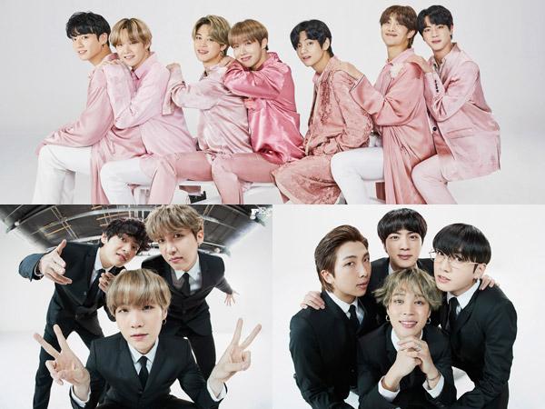 BTS Tampil Fun di Rangkaian Foto Keluarga Perayaan Anniversary #2020BTSFESTA