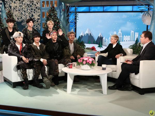 BTS Tampilkan 'MIC Drop' Remix Hingga Bicara Soal Kencani Fans di 'The Ellen DeGeneres Show'