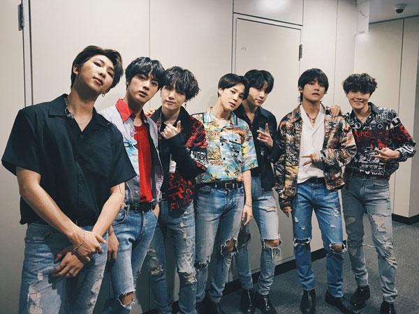 Debut di Chart Billboard Hot 100, BTS 'Fake Love' Pecahkan Rekor dengan Masuk Top 10