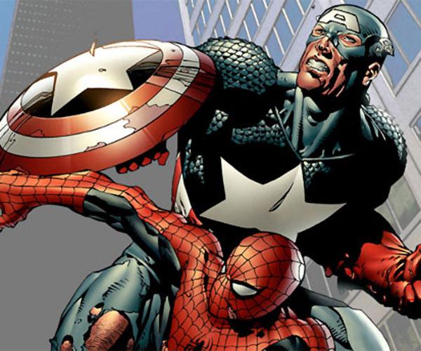 Hasil Hacking Sony Pictures Ungkap Bergabungnya Film Captain America dan Spiderman?