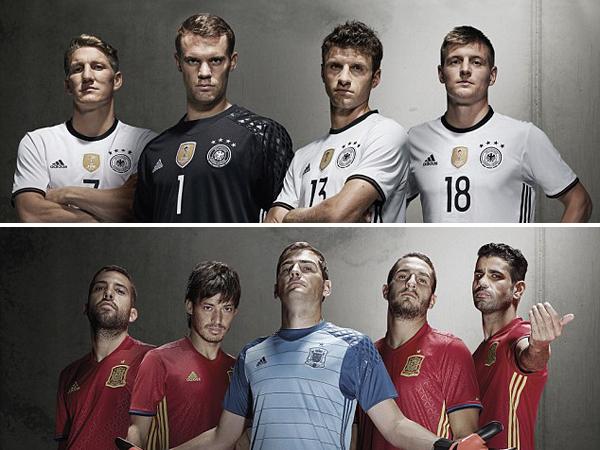 Ini Deretan Jersey Baru Negara Peserta Euro 2016
