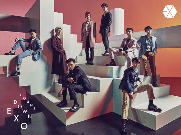 Daebak! Album EXO Raih Sertifikat 'Gold' di Jepang dalam Waktu Singkat
