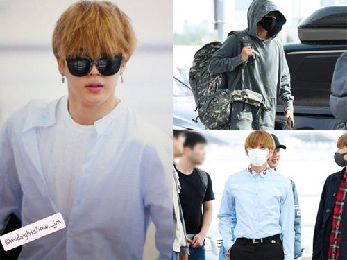 Fashion Airport BTS ke Jakarta Bikin Salah Fokus!