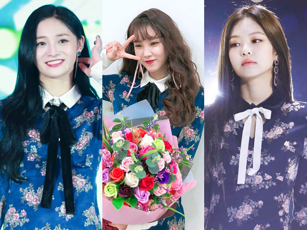 Floral Dress 'Not Your Rose' Ini Laris Manis di Kalangan Idola K-Pop Cewek, Who Wore It Better?