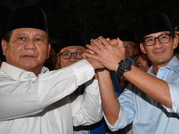 Prabowo Mantap Pilih Sandiaga Uno Sebagai Cawapresnya