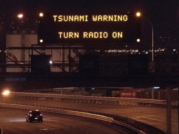 Gempa Besar Disusul Tsunami Gelombang Pertama Terjadi di Selandia Baru