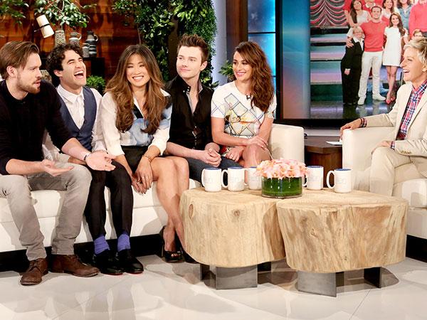 Syuting Episode Terakhir, Para Bintang Glee Rasakan 'Kehadiran' Mendiang Cory Monteith di Lokasi