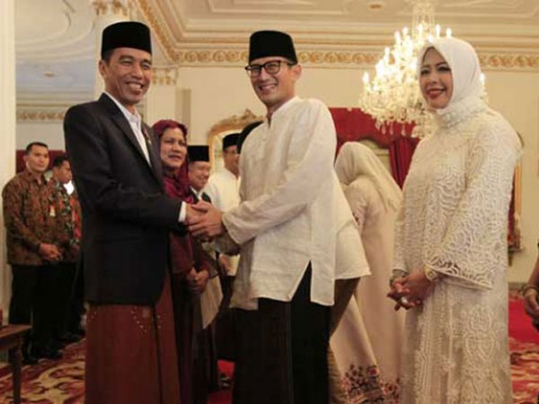 Sindiran Sandiaga untuk Jokowi yang Tak Berani Sebut Kandidat Cawapres: Nothing To Hide