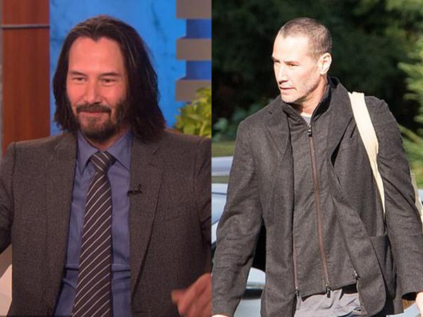 Lebih Segar, Penampilan Baru Keanu Reeves Setelah Potong Rambut