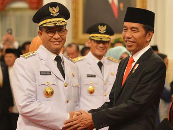 Begini Cara Anies Baswedan Tanggapi Teguran Jokowi Soal Banjir Jakarta