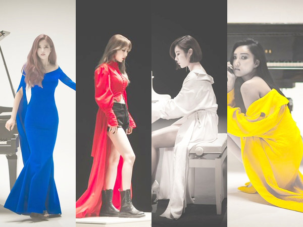 MAMAMOO Tampil Kharismatik nan Artistik di MV Comeback 'Paint Me'