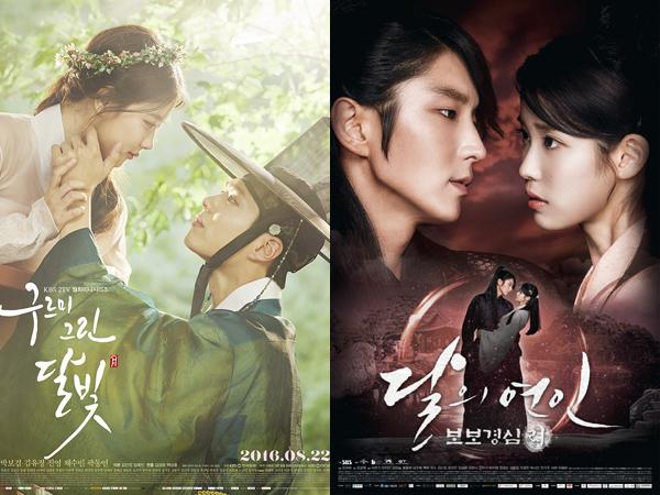 Genre dan Waktu Tayang Sama, 'Moonlight Drawn by Clouds' Tak Takut Bersaing dengan 'Scarlet Heart'