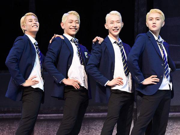 MJ ASTRO dan Ren NU'EST Ungkap Pengalaman Pakai Heels di Musikal 'Jamie'