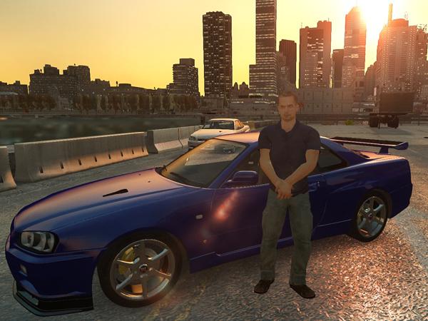 Keren! Game 'GTA V' Buat Tribute To Paul Walker!