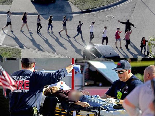 Video Mengerikan Pelajar Meringkuk Ketakutan di Tengah Tragedi Penembakan Sekolah Florida