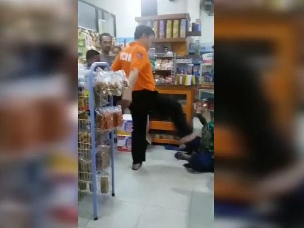 Viral Polisi Pemilik Minimarket Kasari Pencuri, Hati-hati Info Hoax yang Beredar
