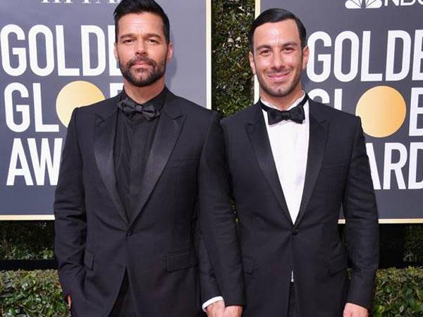 Ricky Martin Resmi Menikah dengan Pasangan Prianya!
