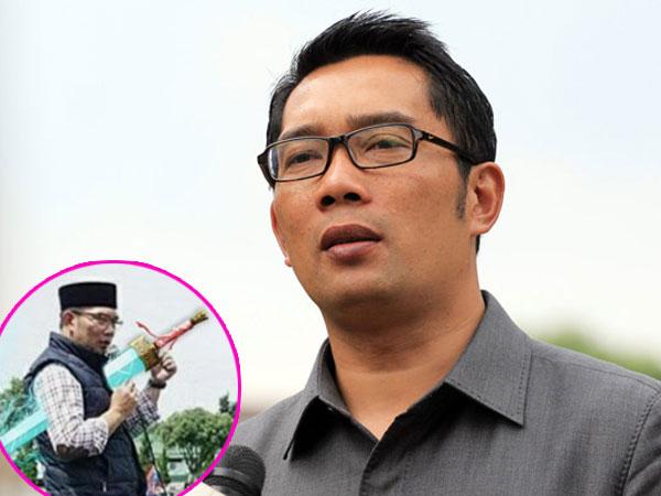 Unggah Foto Editan Pedang 'Goblin' dan Sebut Dirinya 'Ahjussi', Ridwan Kamil Bikin Heboh