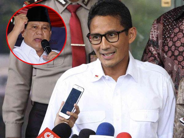 Dana Pilkada Capai Rp 100 Miliar, Sandiaga Uno Sebut Tak Ada Mahar untuk Prabowo