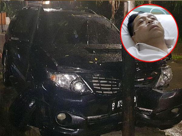 Begini Kronologi Kecelakaan Setya Novanto yang Buat Pelipisnya Benjol Segede Bakpao