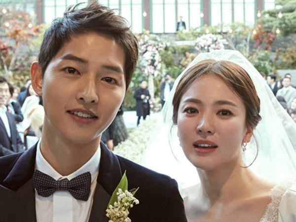 Kompak, Intip Penampilan Perdana Song-Song Couple di Hadapan Publik Sepulang Bulan Madu