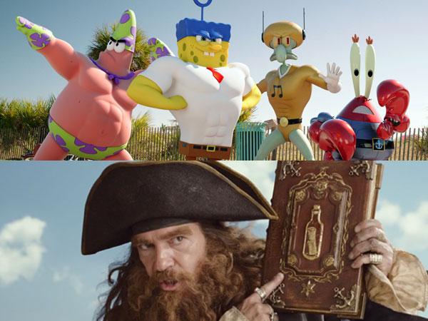 Intip Aksi SpongeBob Lawan Antonio Banderas Dalam Petualangan Terbaru!