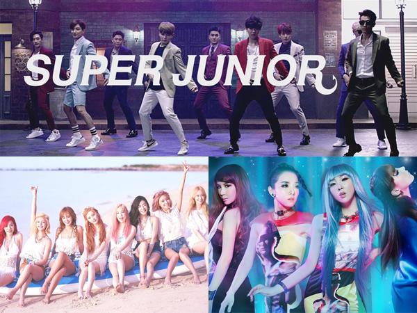 Super Junior, SNSD, dan 2NE1 Bersaing Dengan One Direction Dalam Teen Choice Awards 2015