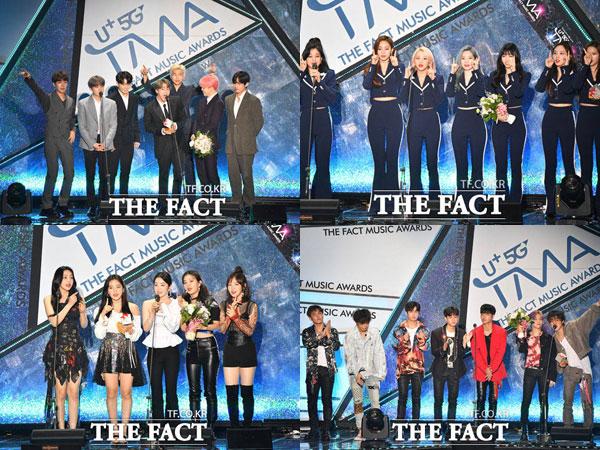 Congrats! Inilah Daftar Lengkap Pemenang 'The Fact Music Awards'