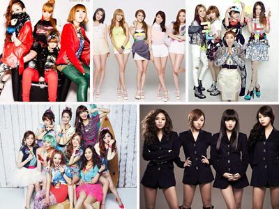 Ini Dia 10 Besar Girlband K-Pop Terpopuler Saat Ini