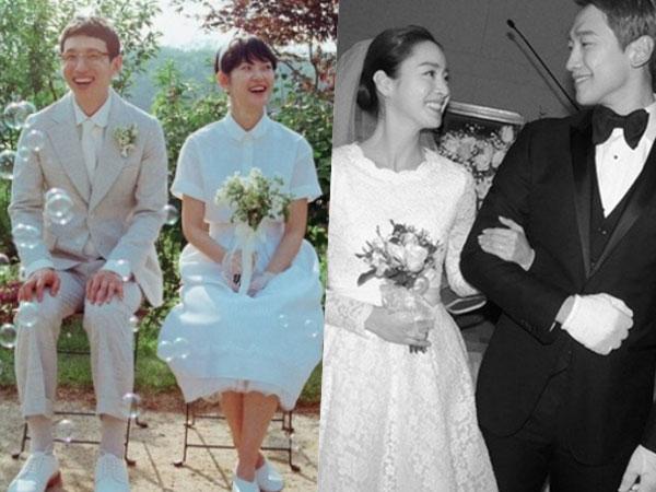 Jauh Dari Kesan Megah, Sederet Pasangan Artis Korea Ini Memilih Pernikahan Sederhana
