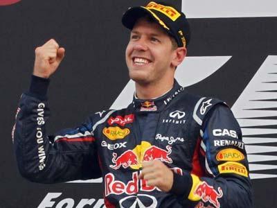 Vettel Kunci Kemenangan GP Bahrain
