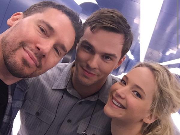 Lokasi Syuting 'X-Men: Apocalypse' Jadi Tempat 'Reunian' Nic Hoult Dan Jennifer Lawrence!