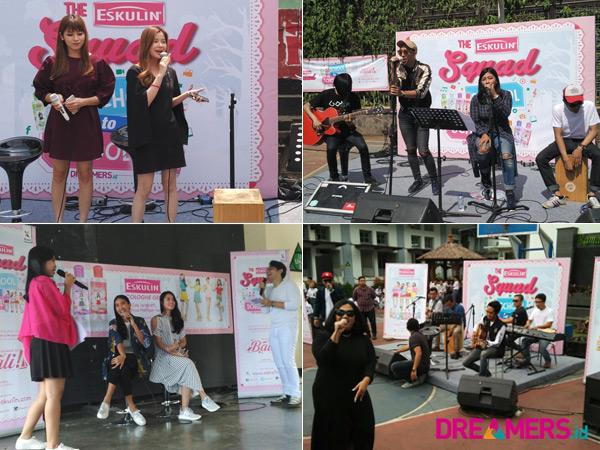 Talkshow Hingga Hiburan Musisi Ternama, Intip Serunya 'Eskulin Squad School to School' di Bandung