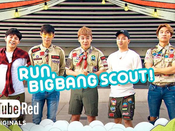Intip Cara Big Bang Rayakan 10 Tahun Debut Lewat Reality Show 'Run, Big Bang Scout!'
