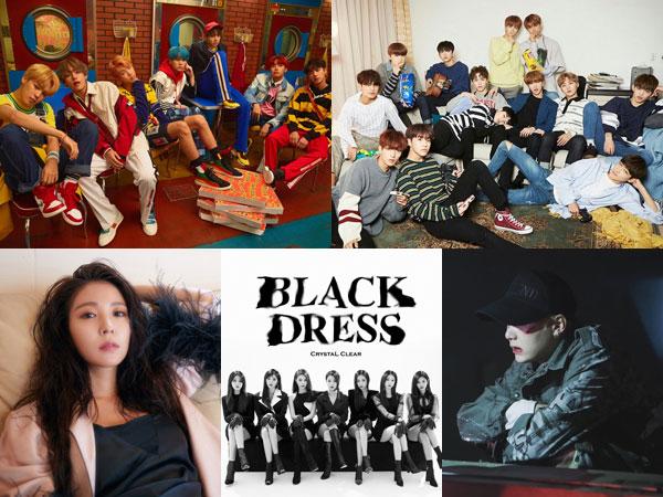 BTS dan SEVENTEEN Bertahan, BoA, CLC, dan Agust D Debut di Chart Billboard World Albums