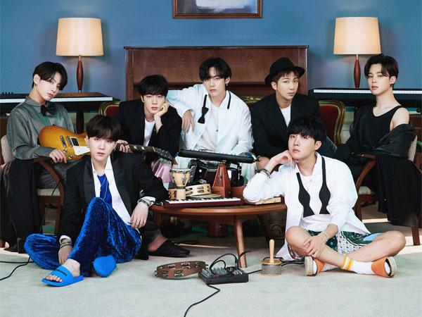 BTS Tampil Cozy di Foto Konsep Pertama untuk Album 'BE'